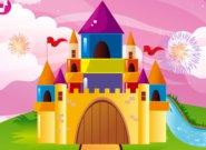 لعبة ديكور القلعة