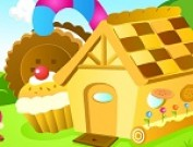 لعبة ترتيب بيت الشوكولاتة