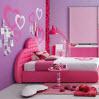 العاب ترتيب الغرفة الوردية