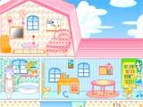 العاب ترتيب المنزل الوردي