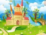 لعبة ديكور القلعه الجديدة